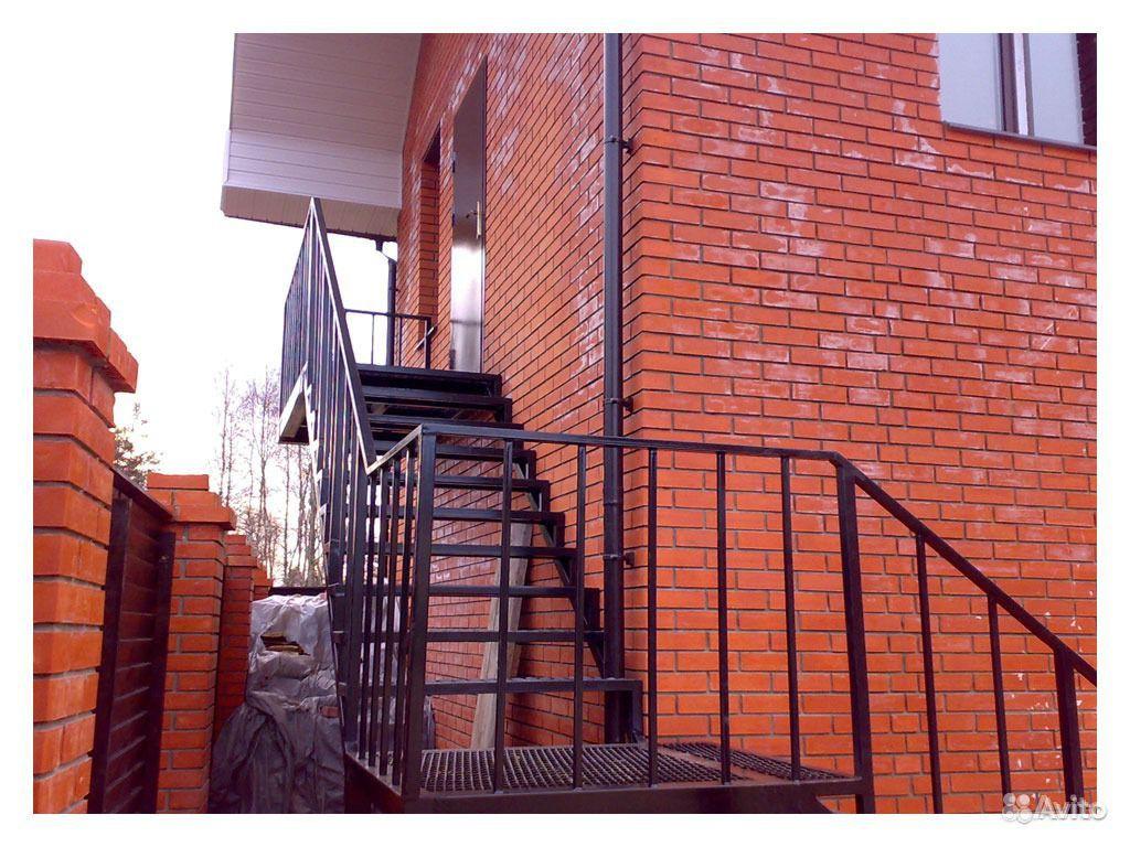 Металлические лестницы арт мл 23.