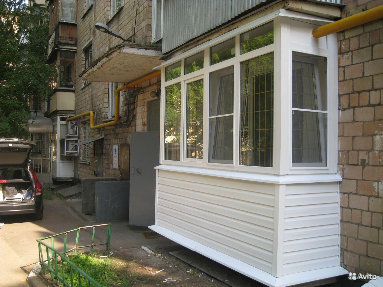 Остекление и отделка балконов в хрущевке железнодорожный..