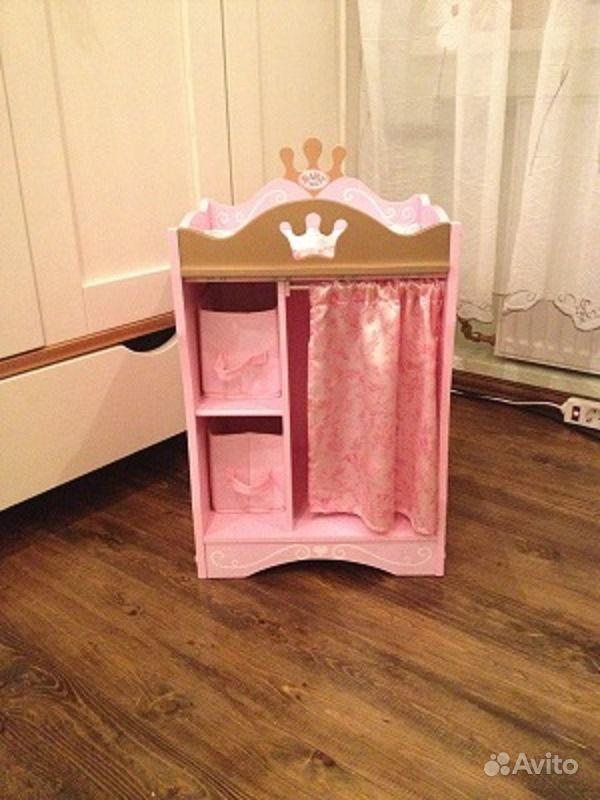 Шкаф для куклы беби бон своими руками 14