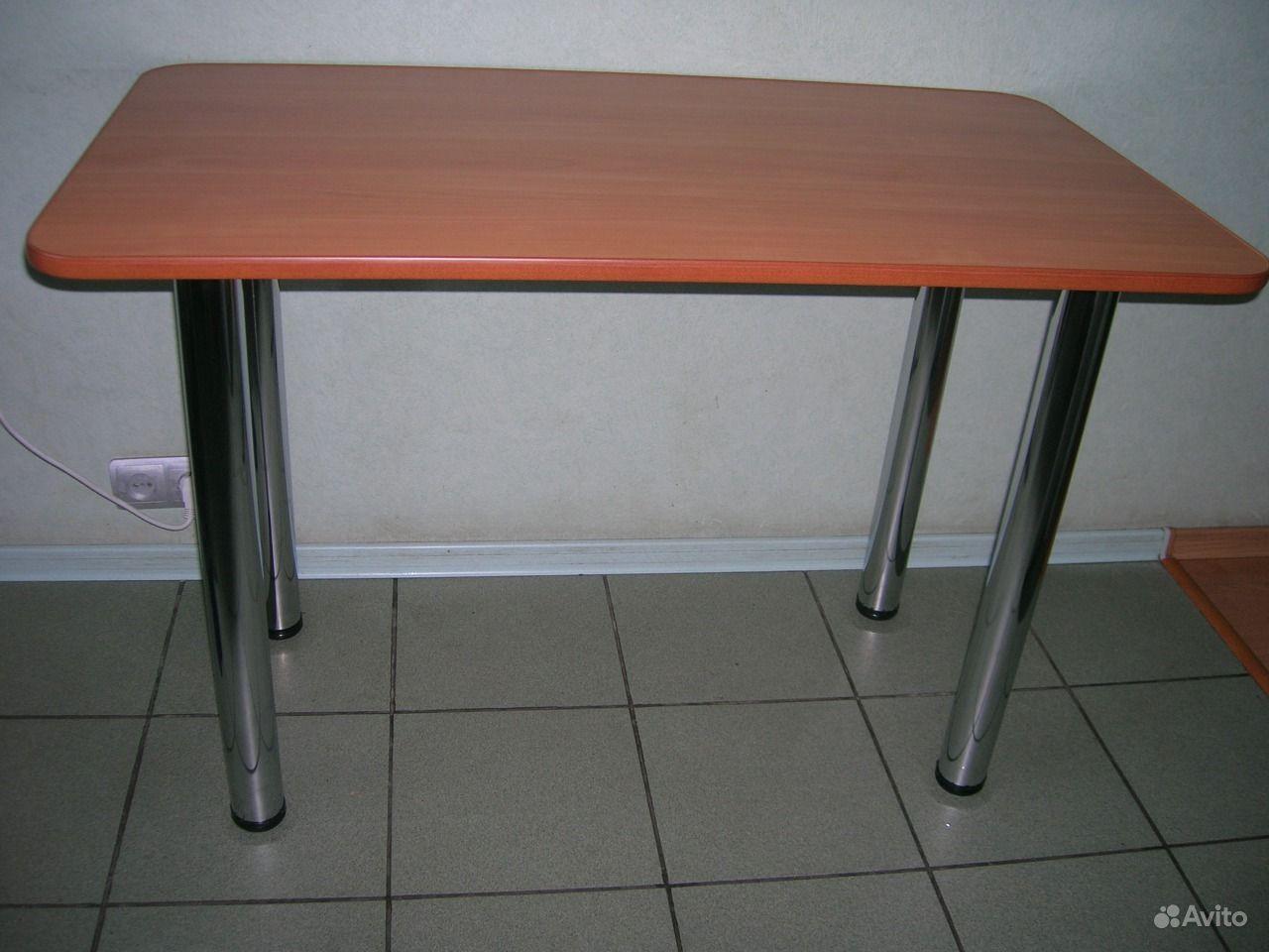 Кухонные металлический стол 8 фотография
