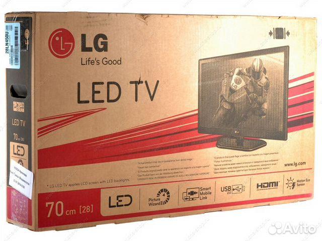 Продается ЖК телевизор LG 28LN450U, бу 1 год, в отличном состоянии, цена в