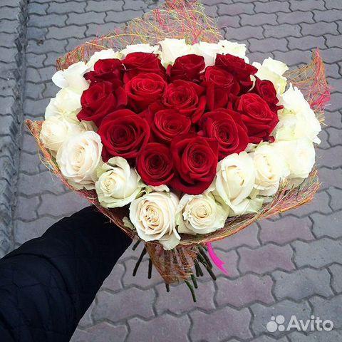 Как из букета роз сделать сердце