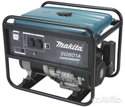 Бензиновый генератор makita eg 601 a генератор