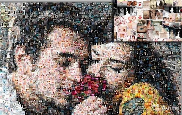 Как сделать картинку из множества картинок