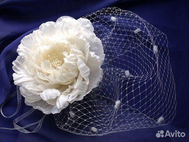 Цветы с вуалью мастер класс