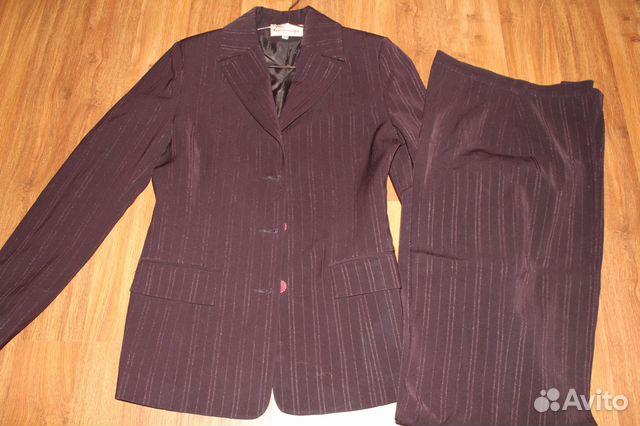 Деловой брючный костюм 89500659778 купить 1