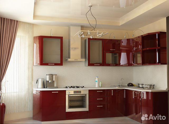 Кухня п-44 с эркером дизайн