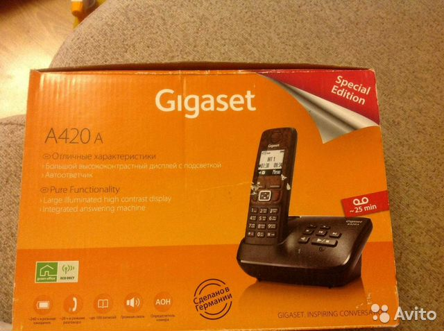 Gigaset a420 instructions english