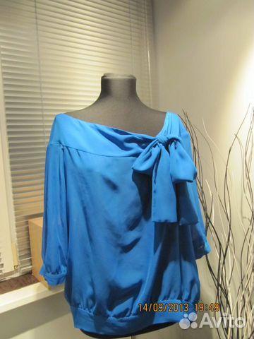 Блузка Синего Цвета В Челябинске