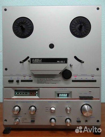 Катушечный магнитофон Санда мк