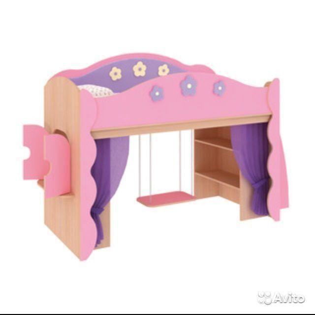 Кровать цветочная фея  уральском