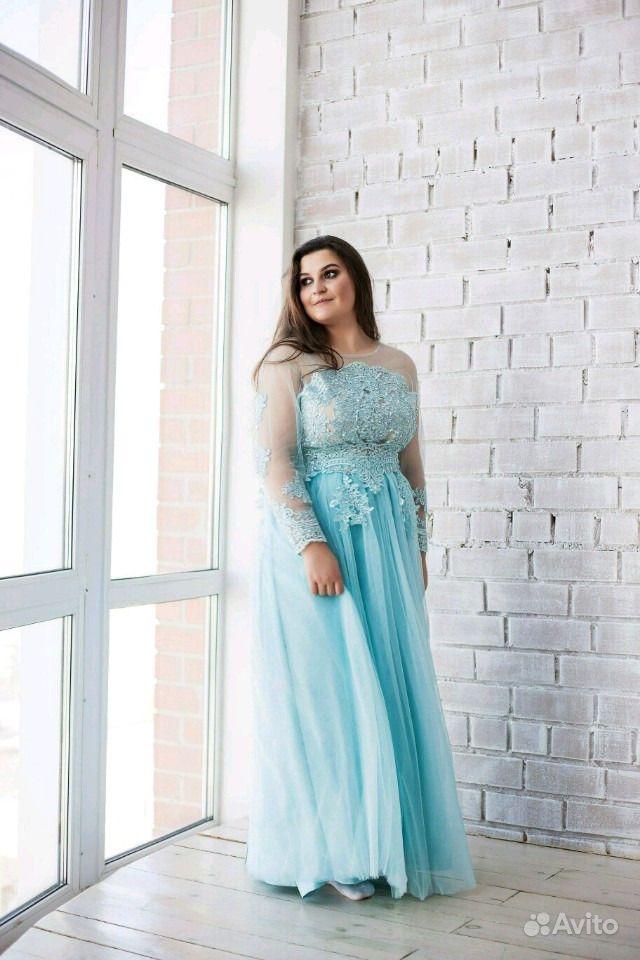 c98bc3e2741 Вечернее Свадебное платье мятного цвета