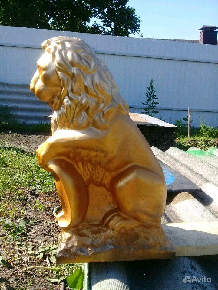 Лев из бетона купить на Зозу.ру - фотография № 1