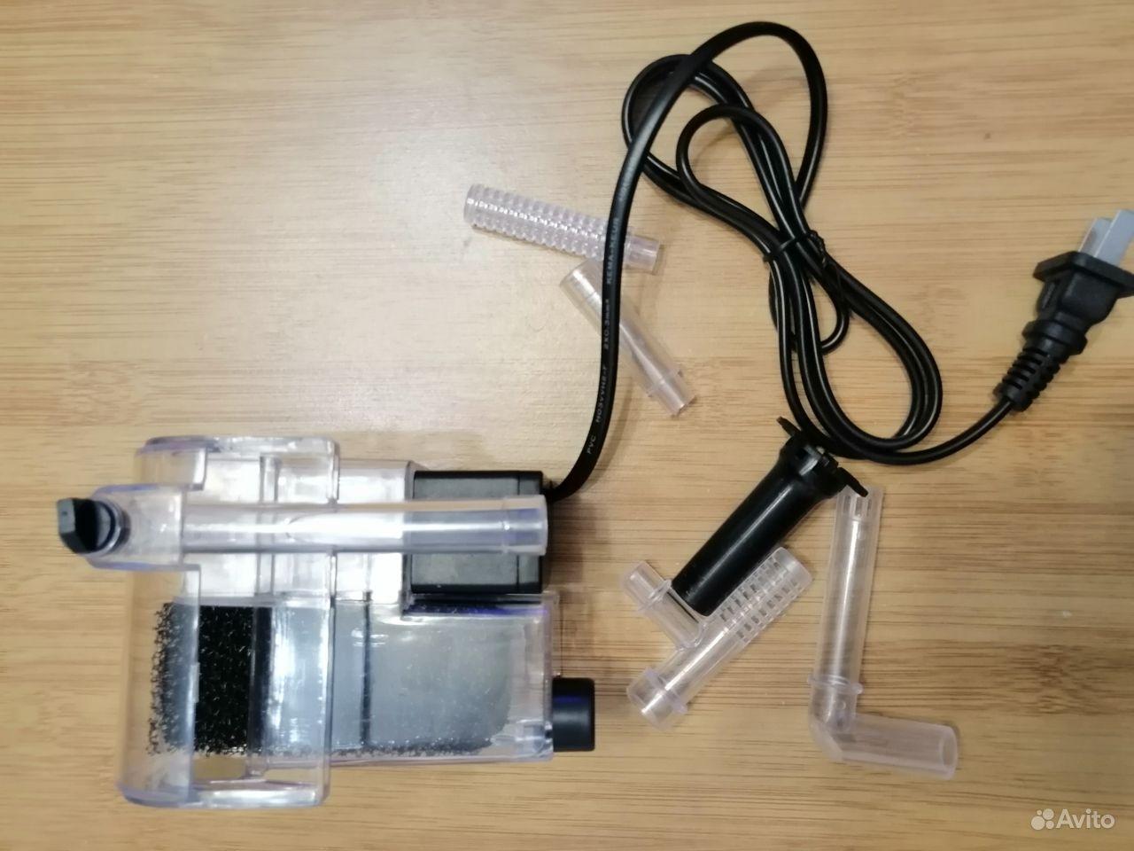 """Фильтр""""рюкзак"""" для нано аквариума купить на Зозу.ру - фотография № 2"""