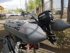 Лодка с мотором Посейдон Антей 400