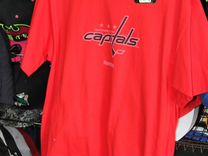 Футболка NHL Washington Capitals новая. Оригинал — Одежда, обувь, аксессуары в Санкт-Петербурге