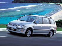 Лобовое стекло на Mitsubishi Space Wagon 1997-2003