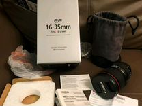 Canon 16-35 f4 L is usm