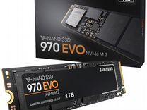 SAMSUNG 970 EVO 1TB, новые, запечатаны — Товары для компьютера в Москве