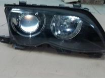 Фара правая ксенон BMW E46
