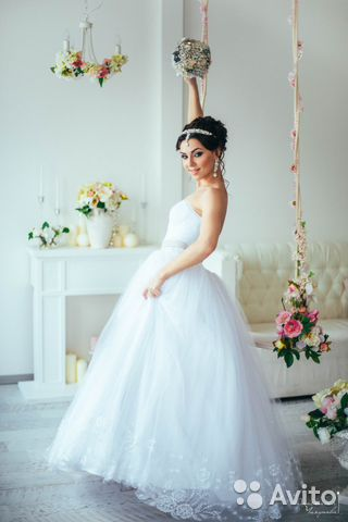 Авито платье свадебное напрокат