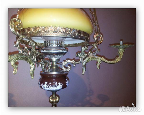 Антиквариат - Люстры, светильники, торшеры и лампы