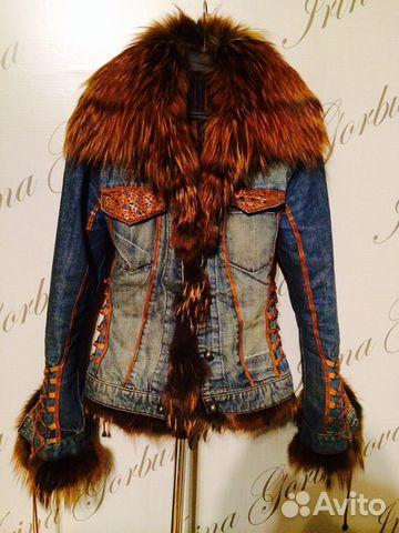 Джинсовая куртка продам