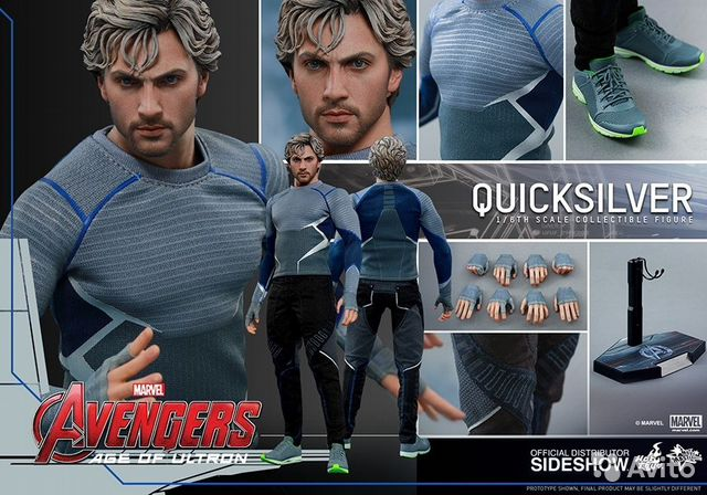 Hot Toys Avengers Age of Ultron Quicksilver 1/6— фотография №1
