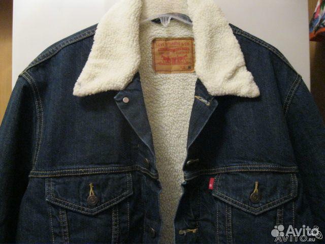 Джинсовая куртка левис спб мужская