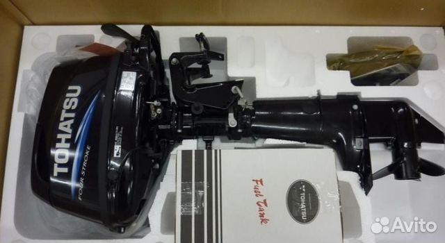 мотор для лодки 5 л.с tohatsu
