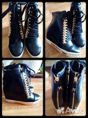 ca96ab1a2 Ботинки женские осенние, новые р-р 35-36 купить в Самарской области ...