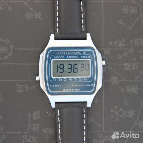 b56b3e82 Электроника 5 наручные электронные часы СССР в купить в Москве на ...