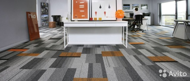 Interface  Carpet tile for where you work