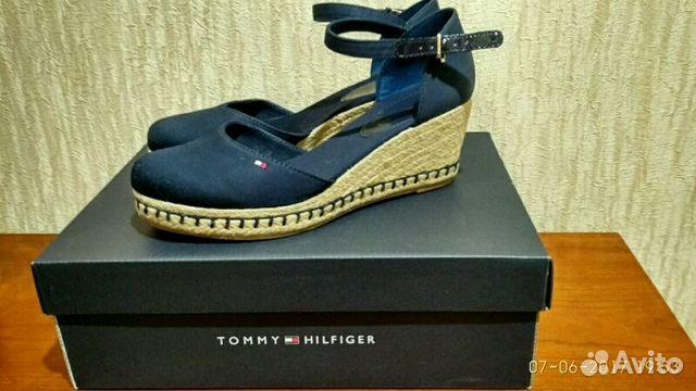 Босоножки- летние туфли Tommy hilfiger 3236fed5ae517