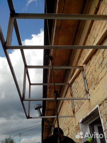 Крыши для балконов, изготовление и монтаж. ремонт купить в р.