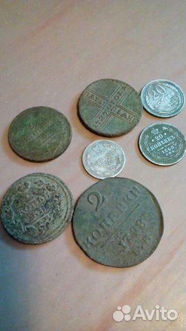 Монеты, крестики и др