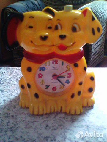 Часы настольные детские Далматинцы