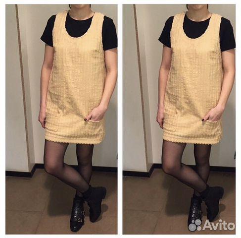 a1d284c29f9 Платье-сарафан из вельвета