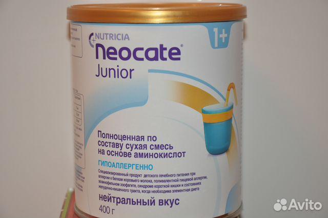 Неокейт джуниор смесь сухая