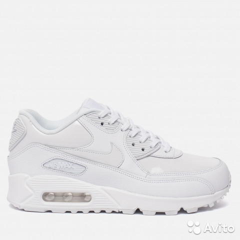 4d8f8a32 Женские кроссовки Nike Air Max 90 Leather White купить в Республике ...