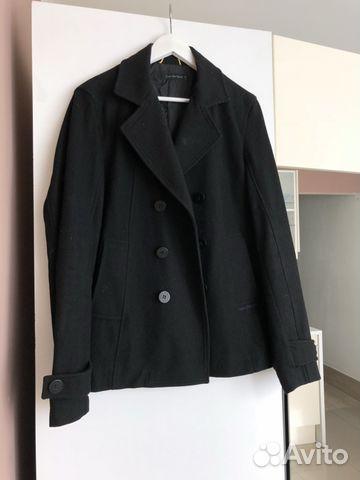 Пальто бушлат мужской Calvin Klein черный купить в Москве на Avito ... e15d0d64b44