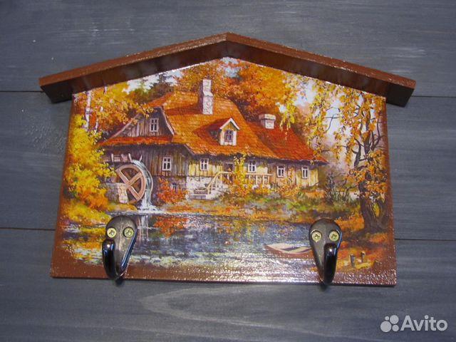 Декупаж деревянных изделий 148