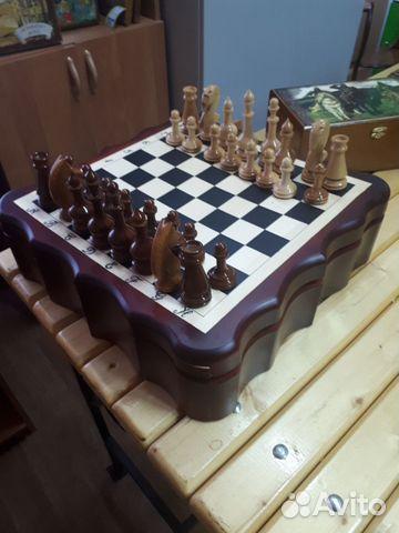 деревянные шахматы ручной работы купить в тамбовской области на