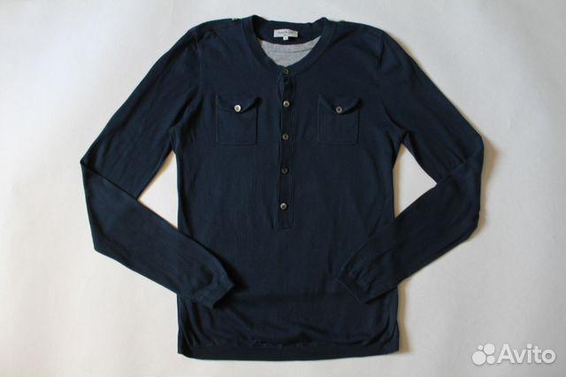 Синий мужской джемпер кофта с шелком Paul Joe купить в Санкт ... 37c5550ca753d