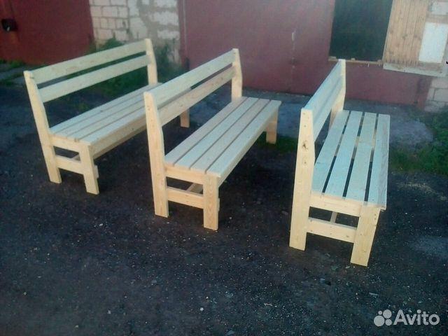скамейки из дерева купить в республике удмуртия на Avito
