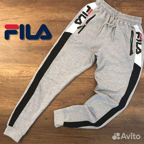 96755dfc Спортивные штаны брюки Fila Фила новые.Серые   Festima.Ru ...