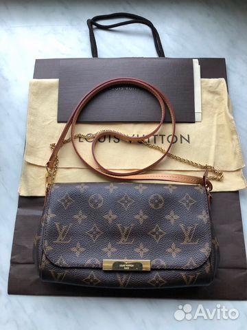 7dfa9dd9b4b6 Сумка клатч Louis Vuitton favorite Pm | Festima.Ru - Мониторинг ...