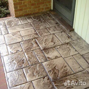 штампованный бетон крымск
