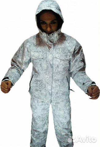 Горнолыжный сноубордический костюм Ripzone Белый— фотография №2 5a02f133c48