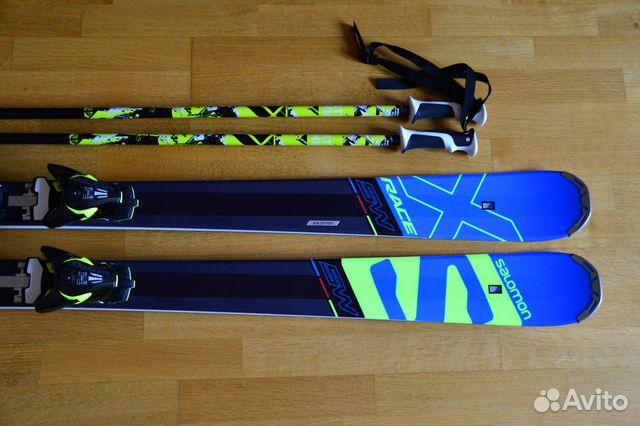 8421ebedd4f8 Горные лыжи с креплениями Salomon X-Race SW + Z 12